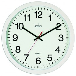 Acctim Controller Wall Clock Black