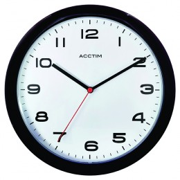 Acctim Aylesbury Wall Clock Black