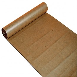Polythene Coated Kraft Paper Roll 900MMX100m Brown