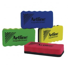 Artline Magnetic White Board Eraser Assorted [Pack of 4]