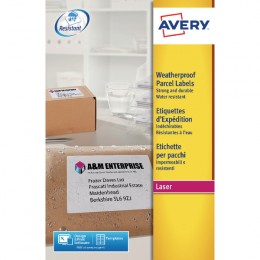 Avery Weatherproof Shipping Labels 99.1X67.7mm [Alternative Picture 1]
