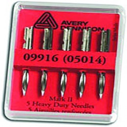 Avery Needles Heavy Duty [Pack of 5]