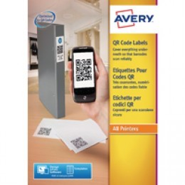 Avery QR Code Label Square 35x35mm