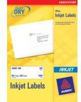Avery Inkjet Labels 10/Sheet 99.1x57mm J8173-25 [Pack of 25 Sheets]