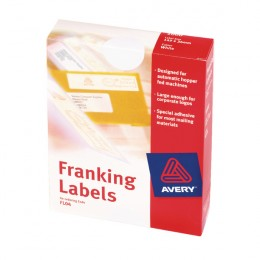 Avery Franking Machine Labels for Manual Franking Machines 2/Sheet [Pack of 500]