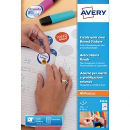 Avery Create Your Own Round Sticker [Pack of 192 Stickers]