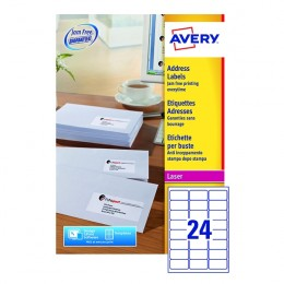 Avery Laser Labels L7159-250 24/Sheet [Pack of 250 Sheets]