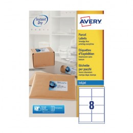 Avery Inkjet Labels 8/Sheet 99.1x67.7mm J8165 [Pack of 100]