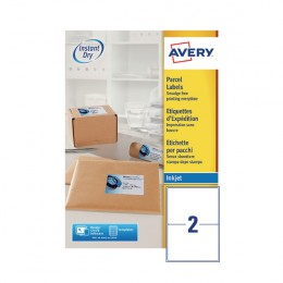 Avery inkjet labels 2 sheet j8168 100 100 for Avery 8168 template