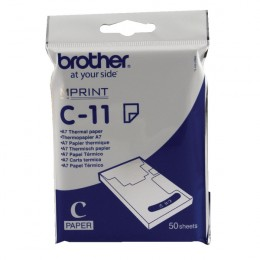 Brother C11 A7 Thermal Paper [Pack of 50]