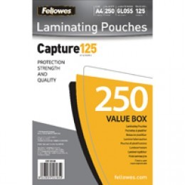 Fellowes Laminating Pouch A4 125mic [Pack of 250]