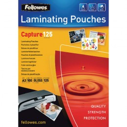 Fellowes Laminating Pouch A3 125 micron [Pack of 100]