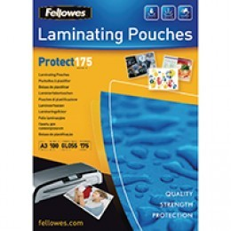 Fellowes A3 350 micron Protect Laminating Pouches [Pack of 100]