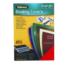 Fellowes Delta Leatherboard Binding Covers Black [Pack of 100]