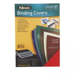 Fellowes A4 Delta Cover Dark Green [Pack of 100]