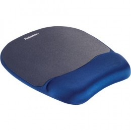 Fellowes Memory Foam Wrist Rest and Mousepad Sapphire