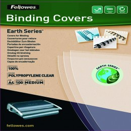 Fellowes Earth A4 Binding Cover Clear [Pack of 100]