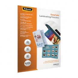 Fellowes Easyfold Laminate Pouch A3 [Pack of 25]