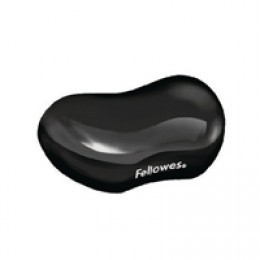 Fellowes Crystal Gel Flex Rest Black
