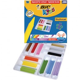 Bic Kids Plastidecor Colouring Crayons Class [Pack of 288]
