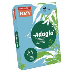 Adagio Card A4 160g Bright Blue [Pack of 250]
