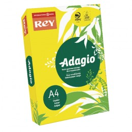 Adagio Card A4 160g Yellow [Pack of 250]