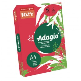 Adagio Card A4 160g Red [Pack of 250]