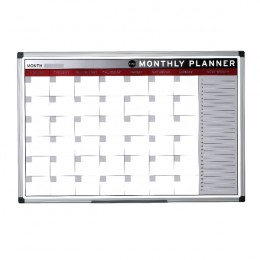 Bi-Office Magnetic Month Planner 900x600mm