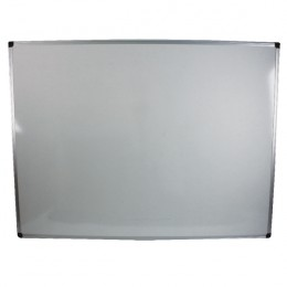Bi-Office Whiteboard 1200x900mm Aluminium Frame