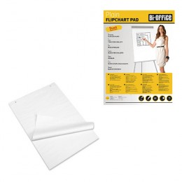 Bi-Office Flipchart Pads A1 Plain [Pack of 5]