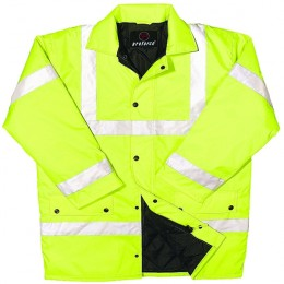 Proforce High Visibility Yellow Jacket Medium