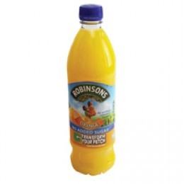 Britvic Robinson Orange Squash 1 Litre [Pack of 12]