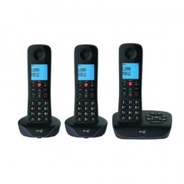 BT Essential Trio Dect Call Blocker Telephone with Answer Machine