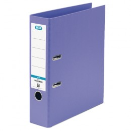 Elba Lever Arch File PVC A4 70mm Purple