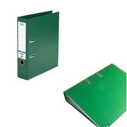Elba Lever Arch File Plastic A4 70mm Green