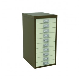 Bisley 10 Drawer Non-Lockable Multidrawer Coffee and Cream