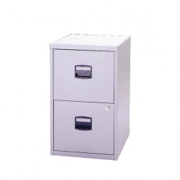 Bisley A4 Homefiler 2 Drawer Goose Grey