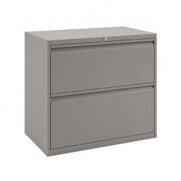Bisley 2-Drawer Filing Unit Goose Grey