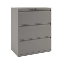 Bisley 3-Drawer Filing Unit Goose Grey