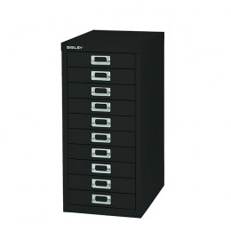 Bisley Cabinet 10 Drawer Black