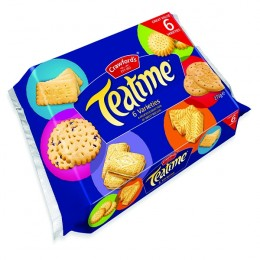 Crawfords Teatime Assorted Biscuits 275g