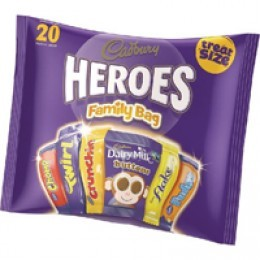 Cadburys Variety Bag 350g