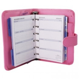 Collins Paris Pocket Organiser Pink