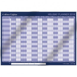 Collins Wall Holiday Planner 2018