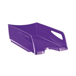 CEP Maxi Gloss Letter Tray Purple 1002200032