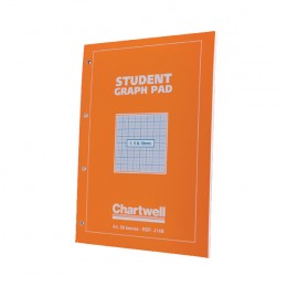 Chartwell Graph Pad A4 in 1mm, 5mm and 10mm