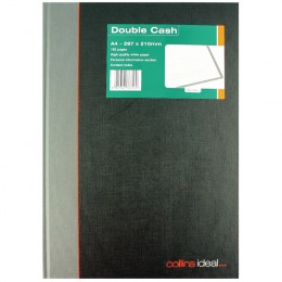 Collins Ideal Casebound Book A4 Double Cash