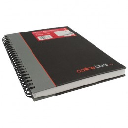 Collins Ideal Wirebound Book A5