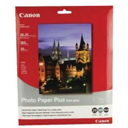 Canon SG201 Semigloss Paper 8x10 Inch [Pack of 20]