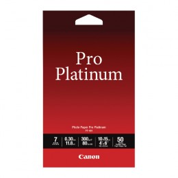 Canon Pro Platinum Photo Paper 4x6 Inch Pack of 50